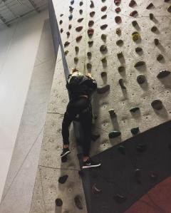 rock climbing, IL –2019